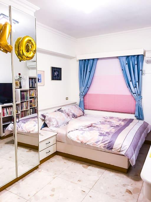 {耶誕假期•璀璨跨年}風格客房-高雅寬敞 Xmas Vibes at 101 Family-elegant & spacious