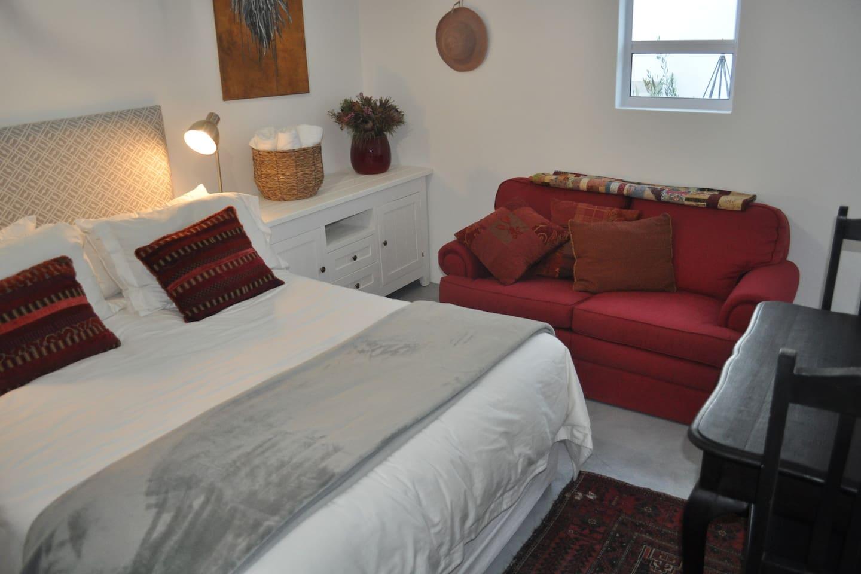 Extra length queen bed