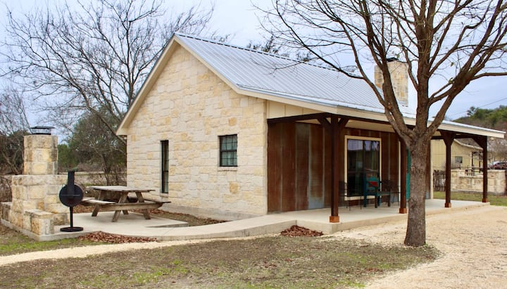 Cabins on the Frio River - River Rock Cabin #2