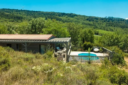 Lovely quiet cottage 3* private pool and views
