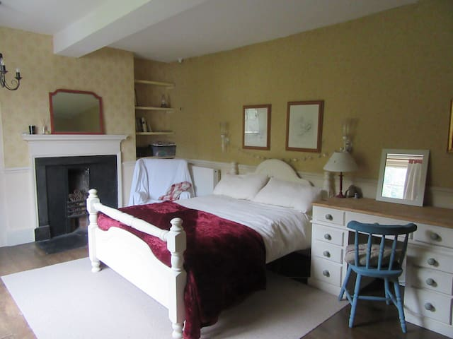 Double room in Country house Nr Montgomery