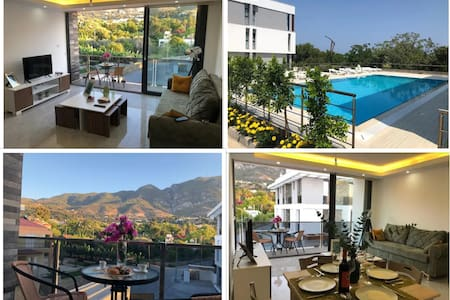 Luxury flat, great view-terrace-pool Lapta Kyrenia