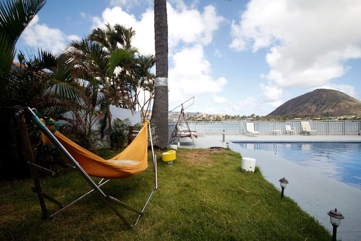 LIVING ALOHA! We offer 30 day rentals and longer!