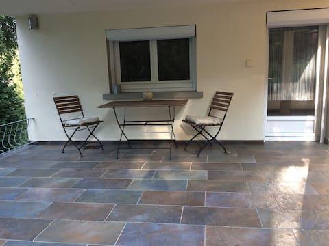 Metz : grande chambre avec terrasse SDB privée