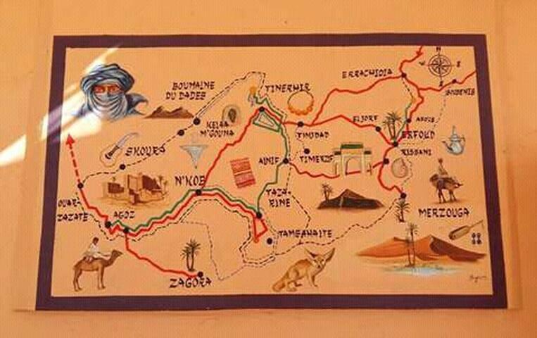 Fab-Morocco Tours - Merzouga - Tent