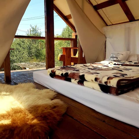 Second Floor Bedroom With King Size Bed.