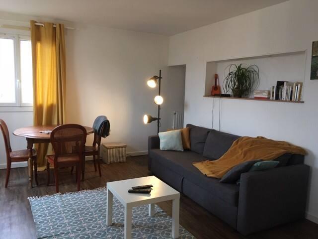 Cergy : 2 pièces spacieux et lumineux