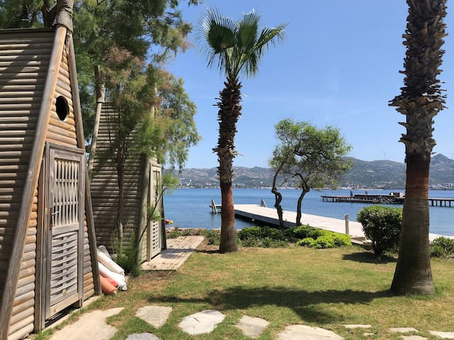 Beach Apartment with Security in Yalikavak