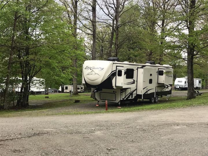 Tent or Rv Campsites in the Laurel Highlands.