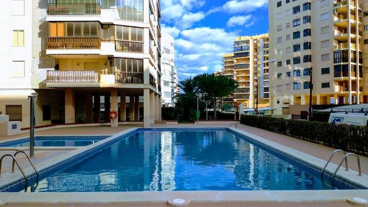 Apartamento 2a línea de playa en Benicasim.
