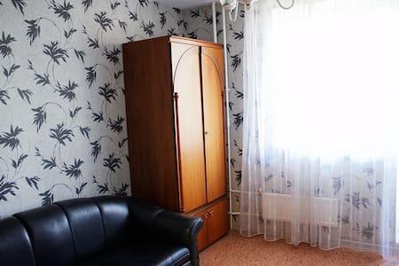 Уютная комната 7мин от метро, 13м от Парка Победы - Moskva - Apartment