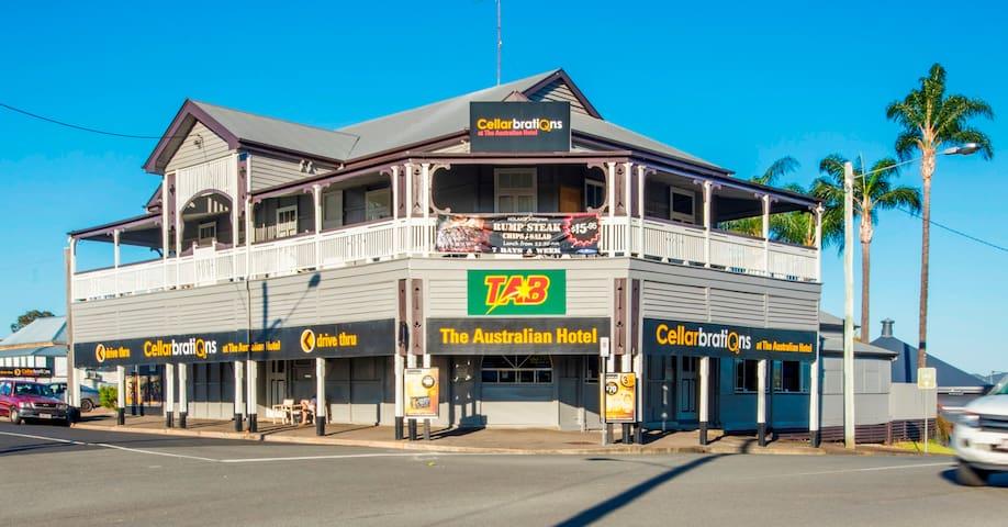 Iconic Australian Hotel Gympie