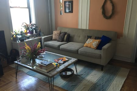 Beautiful, sun-drenched, spacious room - Brooklyn - Lejlighed