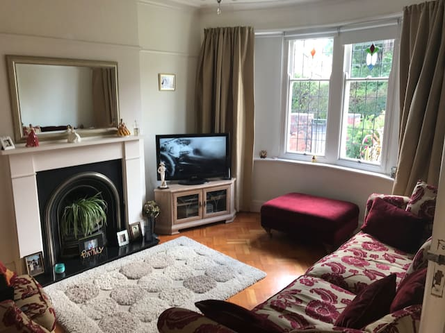 Living Room with Sky TV