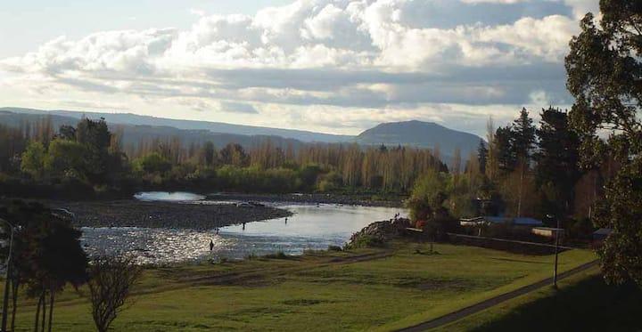Tongariro River View
