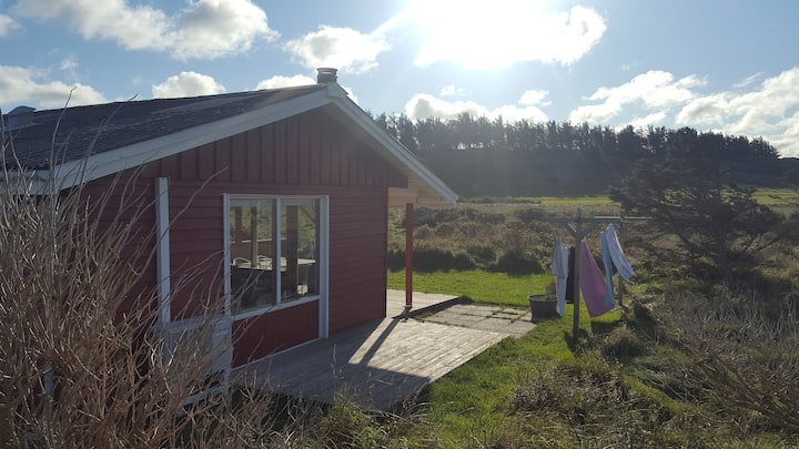 Sommerhus  beliggende i unik natur 700 m til havet