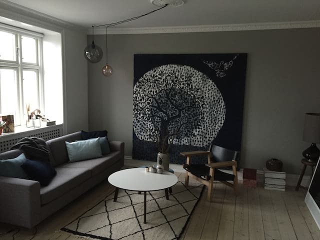 Nice apartm. close to city, harbour, beach & woods - Hellerup - Apartamento
