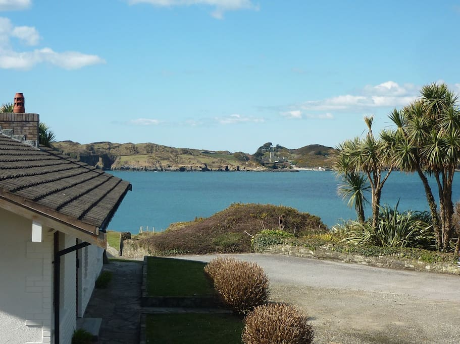 View from the house towards Sherkin Island