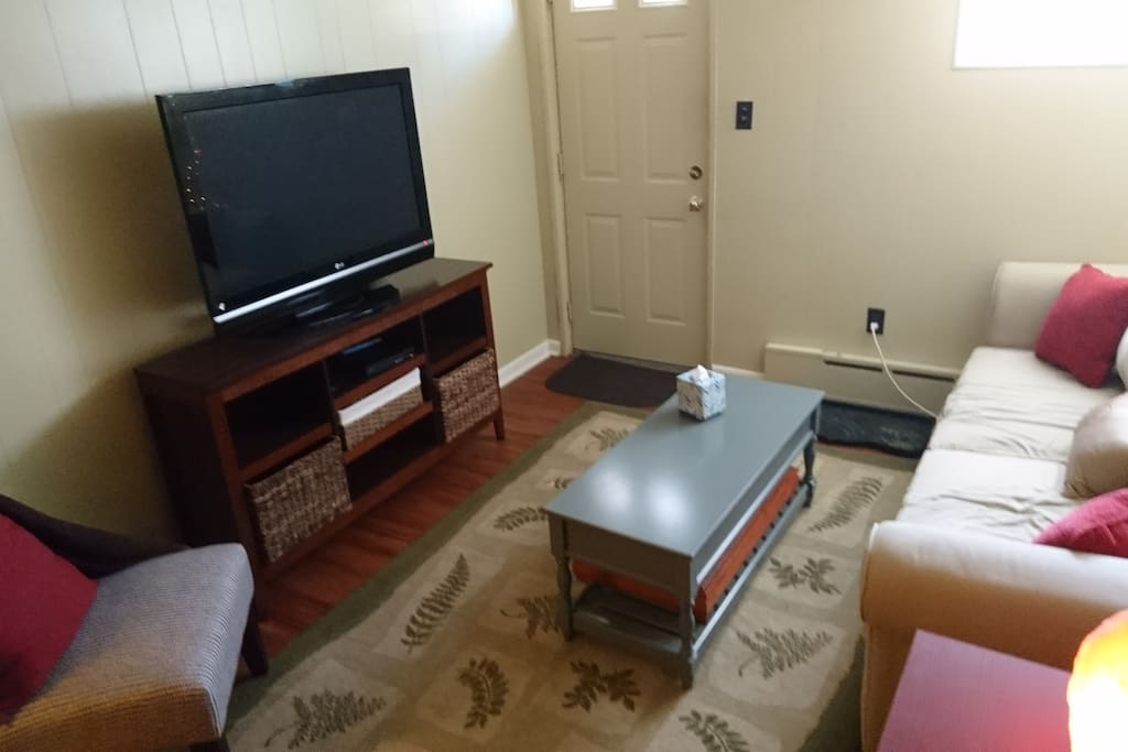 Another angle on the living area
