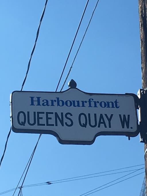 Located on Toronto Harbourfront High Classic Area