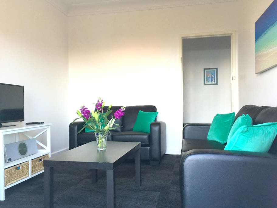 Relax in the new lounge suite