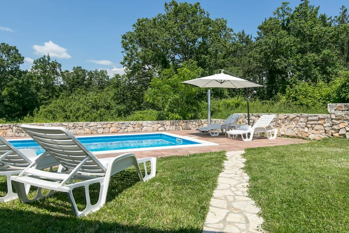 Casa Corina with swimming pool - Labin - Maison
