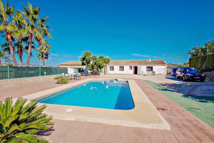 Roglet Dels Baydals - Spanish Finca with views and private pool in Benissa