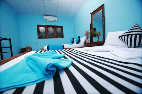 Triple Room With Private Bathroom - Kahanda Villa