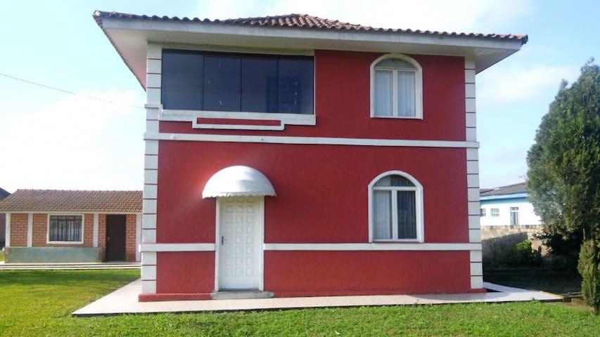 Casa na chácara em Papanduva SC - Papanduva - Cabin