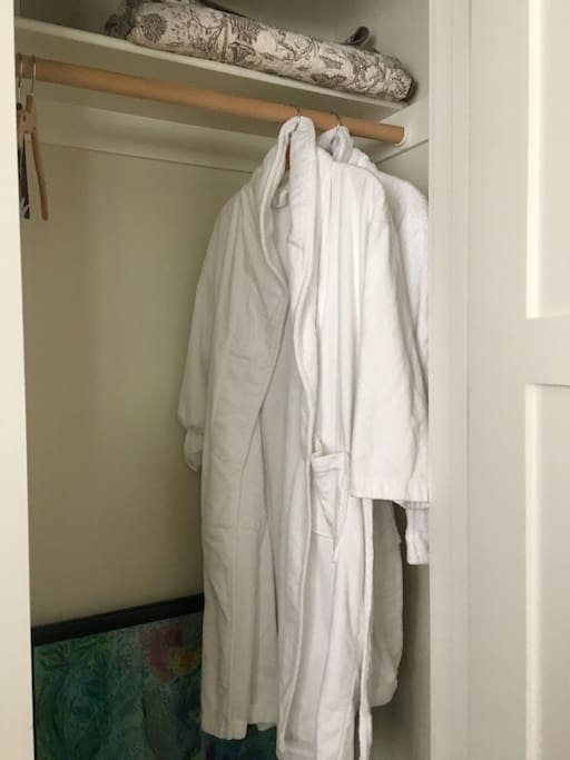 His & Hers Robes.