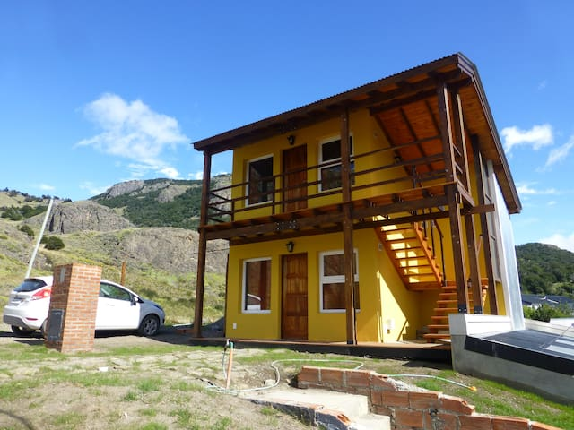 Las Agachonas Apart - El Chalten - Betjent leilighet