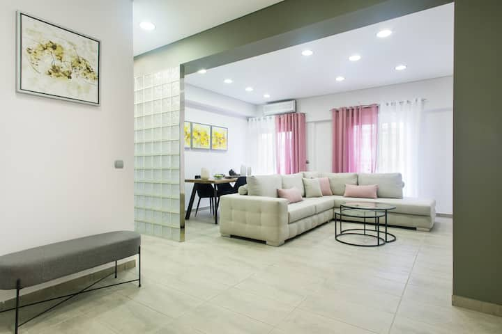Athenalux Apartment Modern Bright  Historic