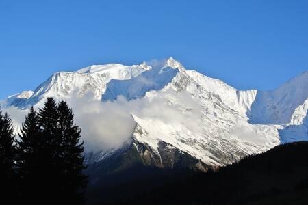 Appartement face au Mont Blanc