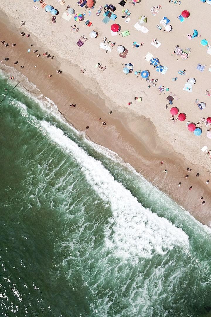 Drone footage - Asbury Park