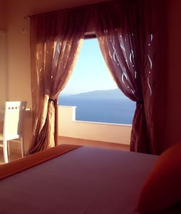 Breathting view from a modern, new apartment - Sarandë - Apartament