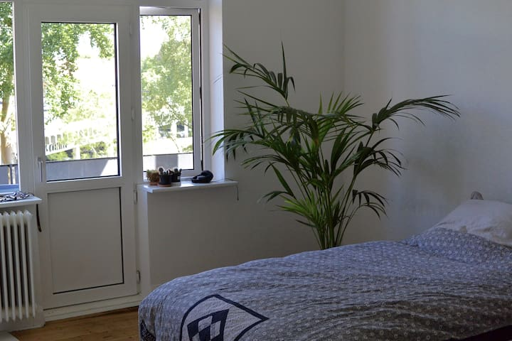 Airy Room In Large Apartment - Viborg - Apartmen