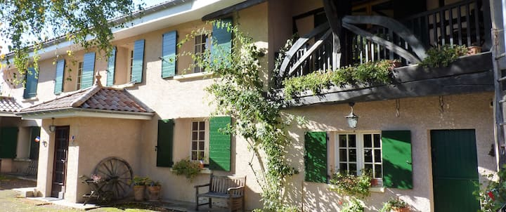 Double rooms in charming, renovated farmhouse