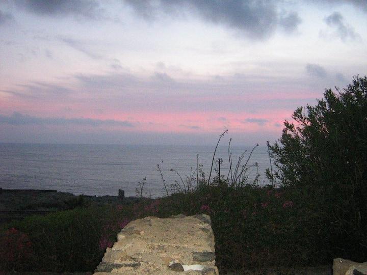 Magic view from Pantelleria's bilocale