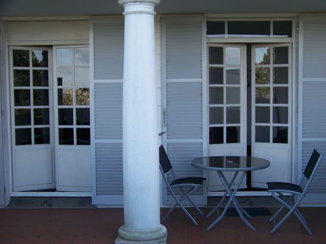 La terrasse