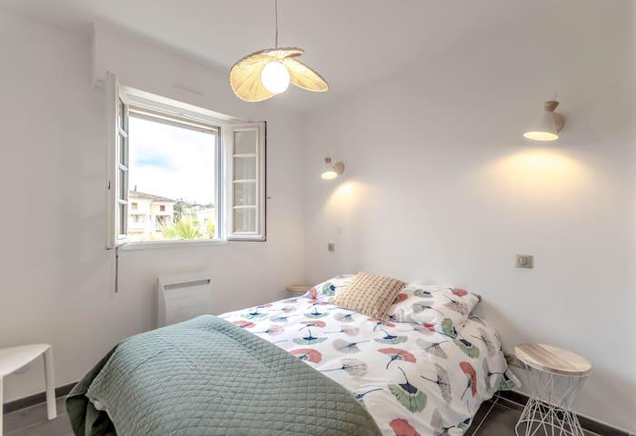 Bright and cozy bedroom