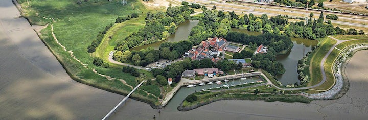 Unieke woning in Lillo (Antwerpen)