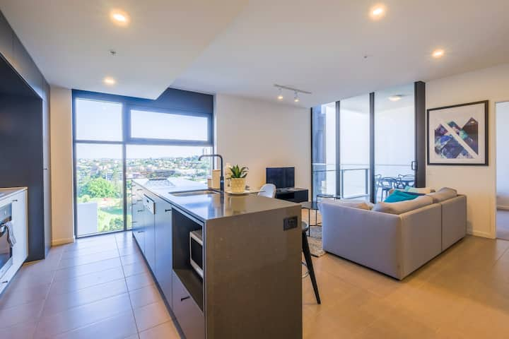 Park View 1BR Unit with Rooftop Pool at South Bank