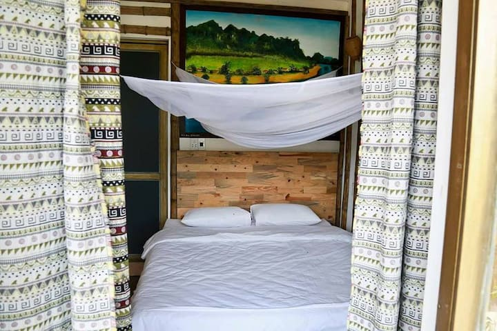 Jungle Boss Homestay - Double Room