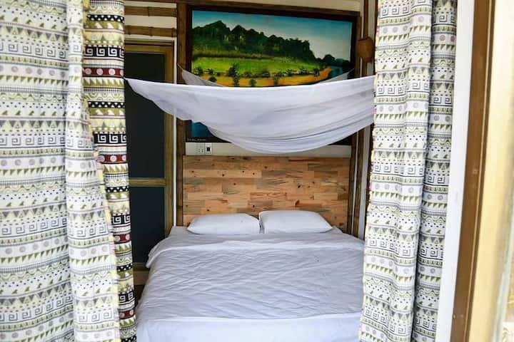 Jungle Boss Homestay - Double Room