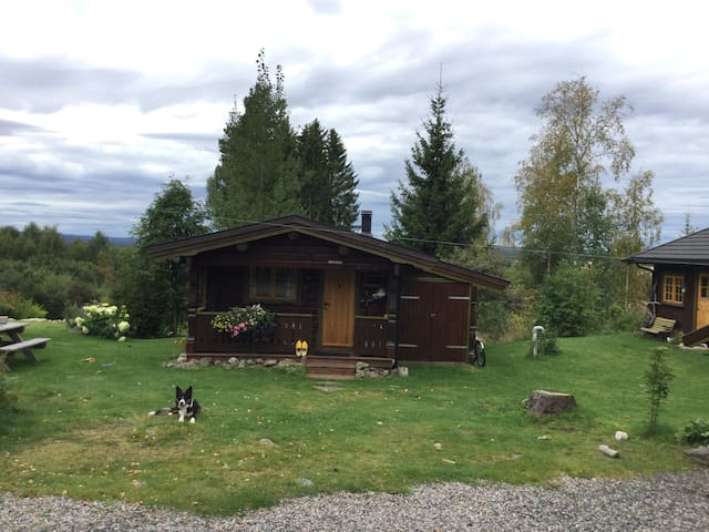 Gezellige hut met prachtig uitzicht