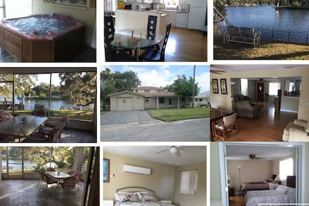 Waterfront 3/3 Home/Dock, direct to Gulf of Mexico - New Port Richey - Ház