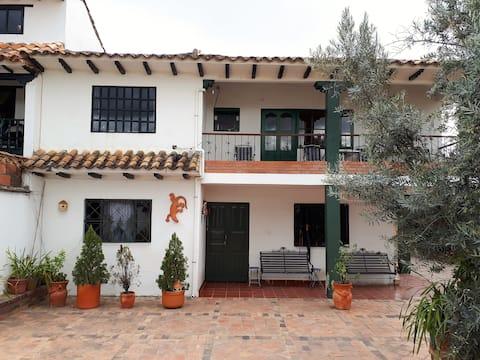 Villa de Leyva Habitacion Amplia