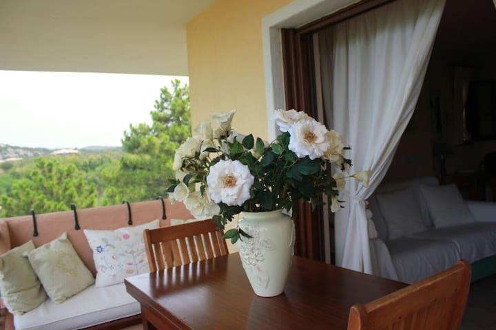 Il monolocale con vista sul golfo - Marinella - Casa