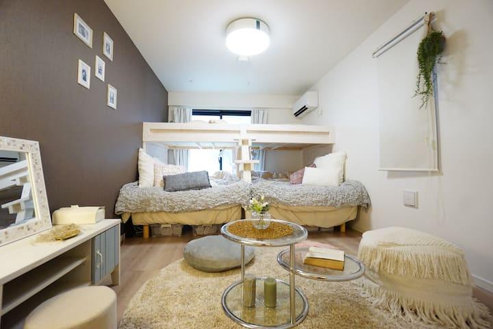 Newly-built,Asakusa9min,Station2min,3 beds, 1F