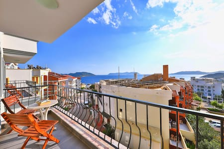 Naturel apart kaş 1.you  will have great time.